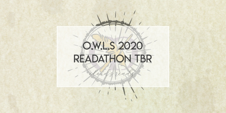 O.W.L.s 2020 Readathon TBR (aka April TBR!!)