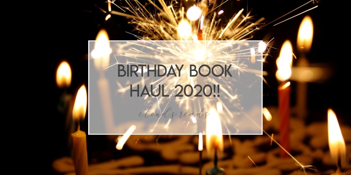 Birthday Book Haul 2020!!